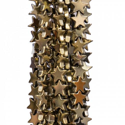 Catena Di Acciaio 316L Rolo' 2,0mm20 Metri Placcato Oro