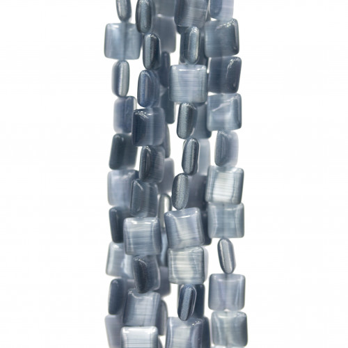 Scatola Regalo Fiaba Carta Rilievo Perlato Fiocco Celeste 4,2x21x2,4cm 12pz