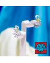 Chiusura Di Argento 925 Tondo Pastiglia A 3 Fili 15mm 1pz Ramato
