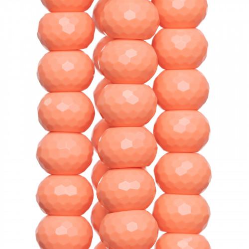 Componente Di Resina Rettangolo Piatto Inciso Fantasia1 20x30mm 4pz - Rosso