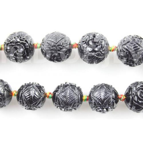 Corniola Multicolor Riso 10x20mm
