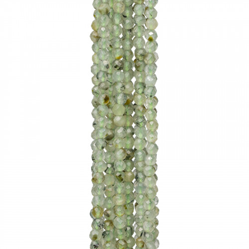 Giada Rubino Rondelle Sfaccettate 14x10mm