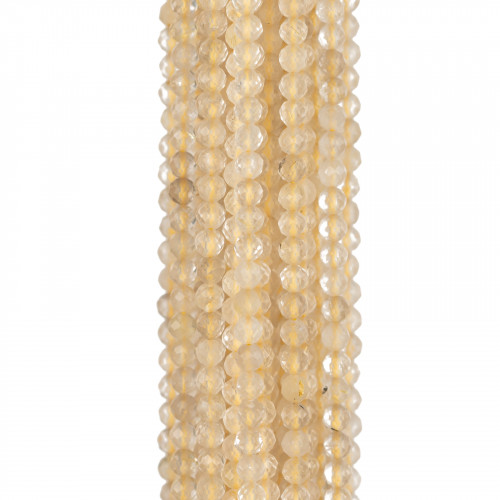 Giada Smeraldite Sfaccettato 18mm