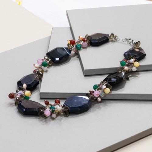 Perle di Fiume 1 Foro Tonde (AAAAA) 11,0-11,5mm 6 Paia Bianco