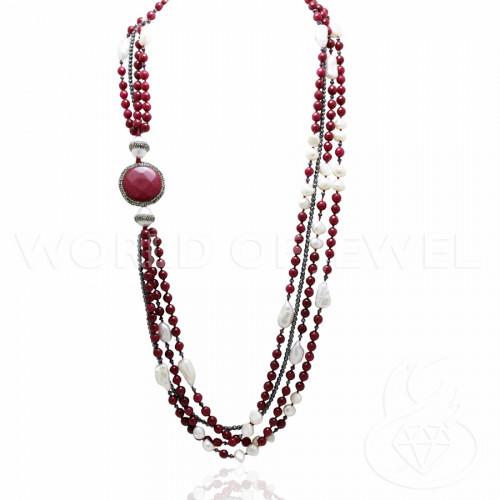 Perle di Fiume Barocche 12-15mmDa 110g/130g - Bianche