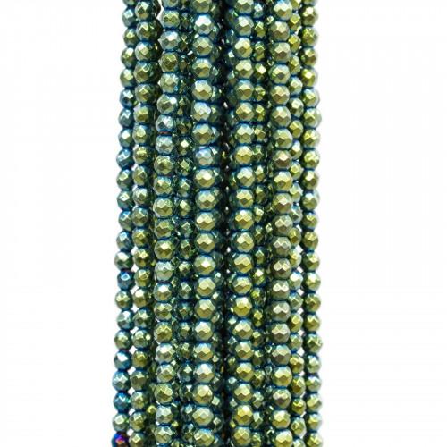 Agata Grigia Tondo Liscio 18mm