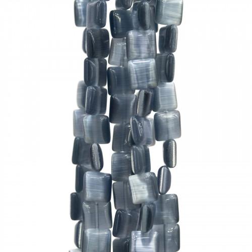 Scatola Regalo Fiaba Carta Rilievo Perlato Fiocco Celeste 5x8x2,4cm 24pz
