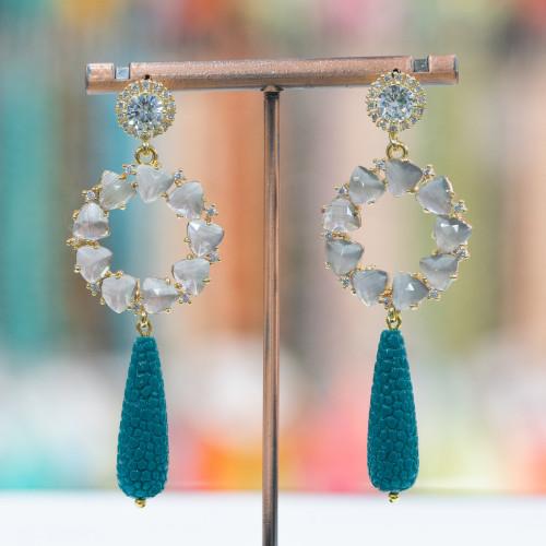 Perle di Maiorca Grigio Tahiti Tondo Liscio 16mm