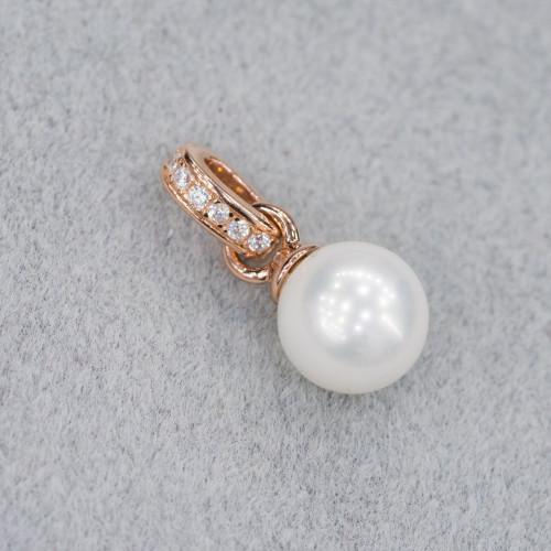 Perle di Fiume Tondo 6,0-6,5mm Bianco 5A1
