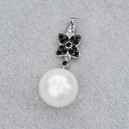 Perle di Fiume Tondo 8,0-8,5mm Bianco AA1