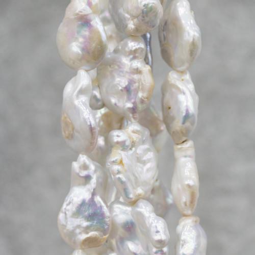 Opale Rosa Sasso Sfaccettato 15-25mm