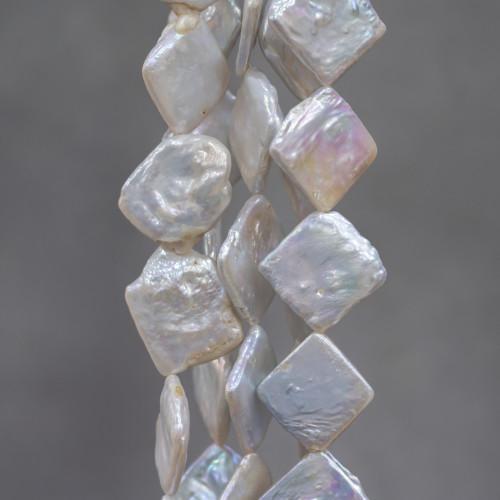 Perle Di Fiume Tondo 9,5-10,0mm AAAA+ Lilla