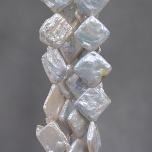 Perle Di Fiume Tondo 8,5-9,5mm AA+ Grigio