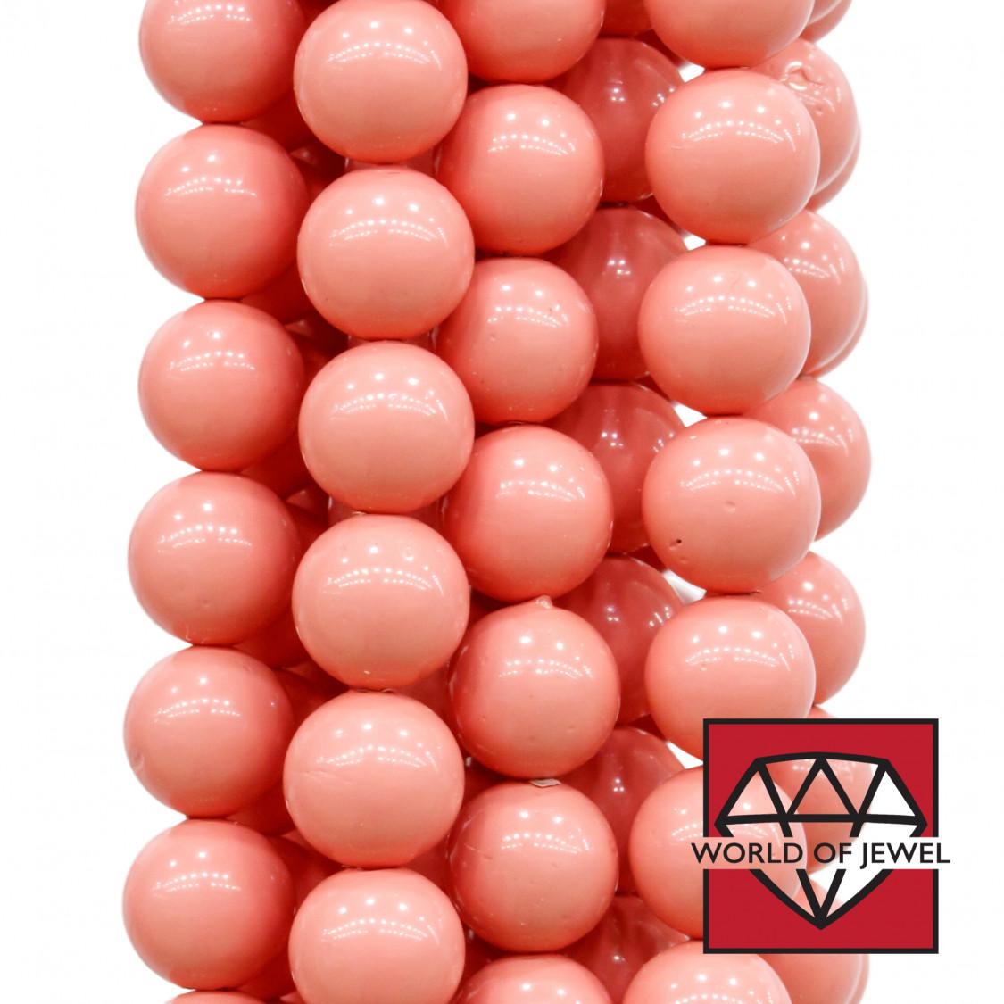 Perle di Maiorca Rosso Tondo 10mm