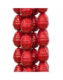 Perle di Maiorca Rosso Tondo 14mm