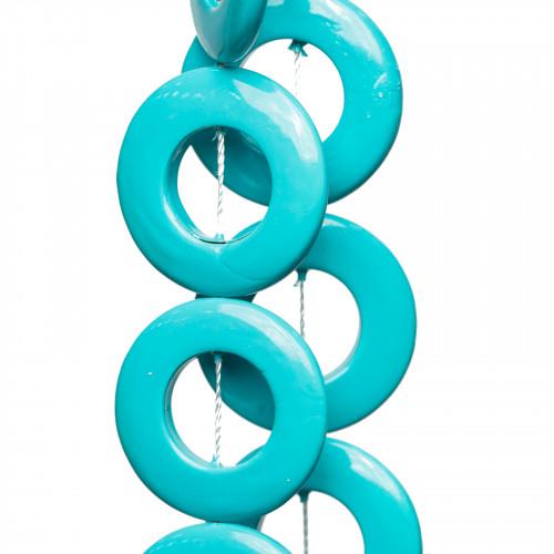 Base Per Orecchini Di Argento 925 Monachella Spirale 5 Paia Argentato
