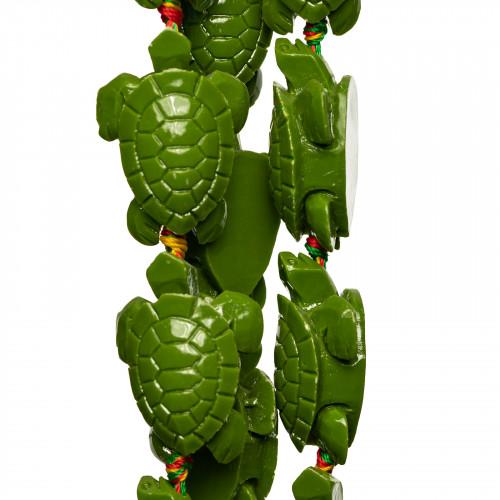 Labradorite Verde Rondelle 10x07mm