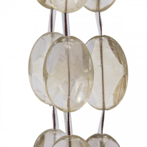 Perline a Filo Di Marcasite Strass Coppette Cupole 17x12mm 10pz Nero+ Bianco