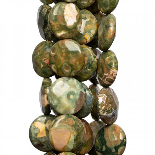 Bracciale Di Argento 925 Argentato E Ambra Lunghezza 21,5cm - 1pz - Cod. 25324