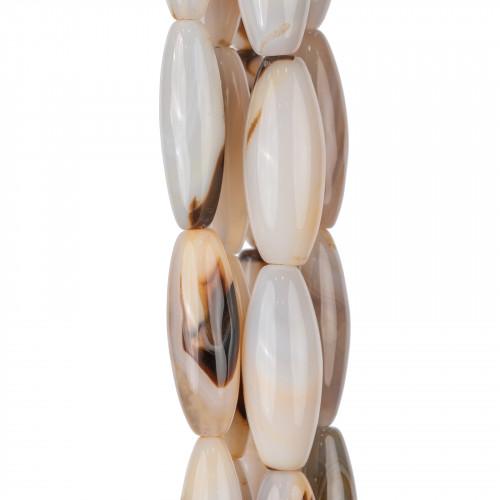 Perle Di Fiume Bottoni Cabochon 1 Foro (AA) 10.0-10.5mm 10Paia Bianco