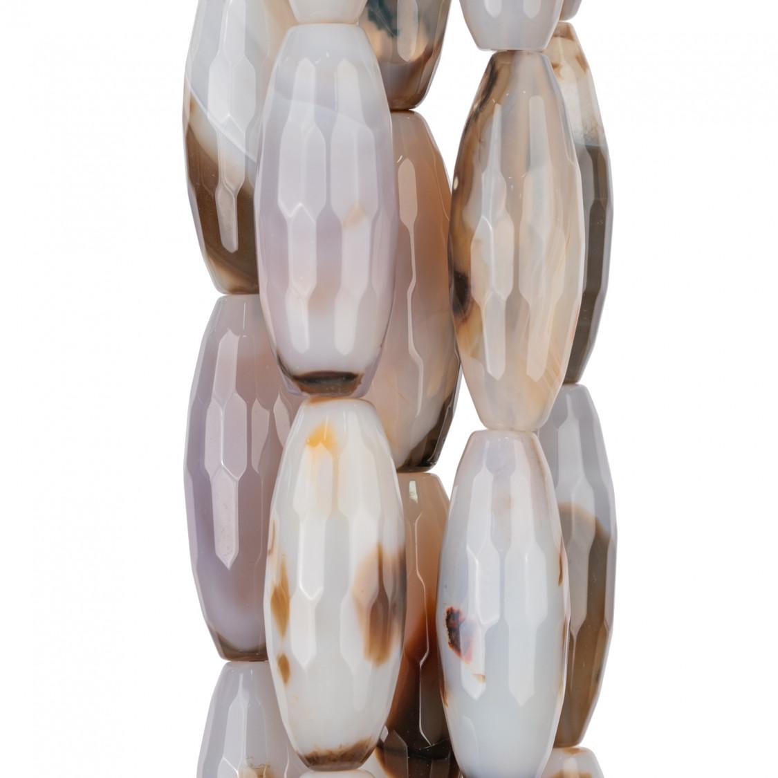 Perle Di Fiume Bottoni Cabochon 1 Foro (AA) 11.0-11.5mm 6 Paia Bianco