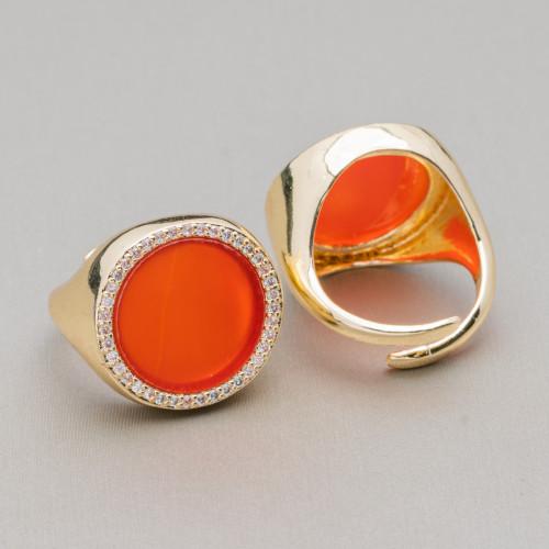 Perle Di Fiume Bottoni Cabochon 1 Foro (AA) 7.5-8.0mm 12 Paia Bianco