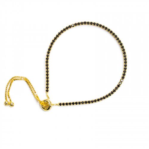 Perle Di Maiorca Con Strass Tondo Liscio 06mm