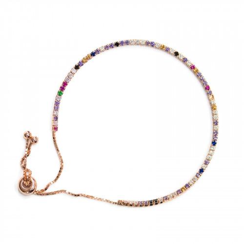 Perle Di Maiorca Bordato Oro Tondo Piatto 18mm 10pz Bianco