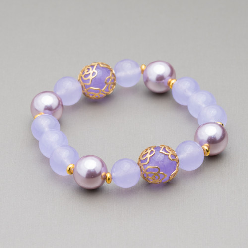 Perle Di Fiume Tondo 4,0-4,5mm A+2 Bianco