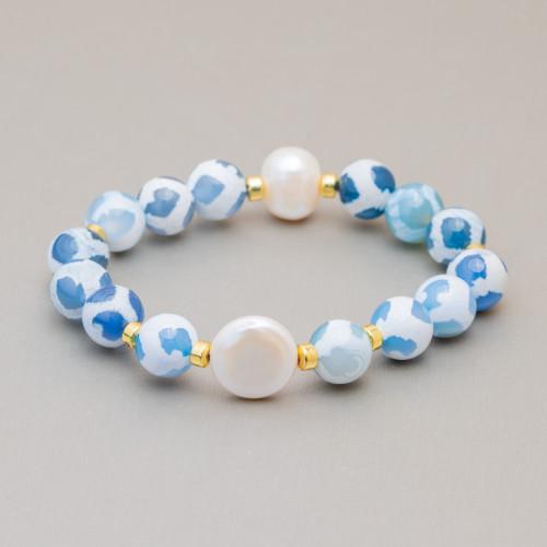 Perle Di Fiume Tondo 4,0-4,5mm AAA+ Bianco