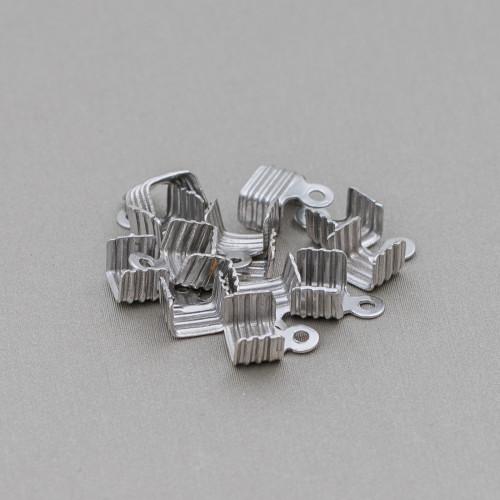 Perle di Maiorca Grigio Argentato Tondo Liscio 06mm