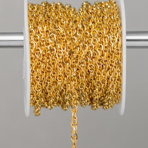 Agata Verde Striata Riso Sfaccettato 15x30mm