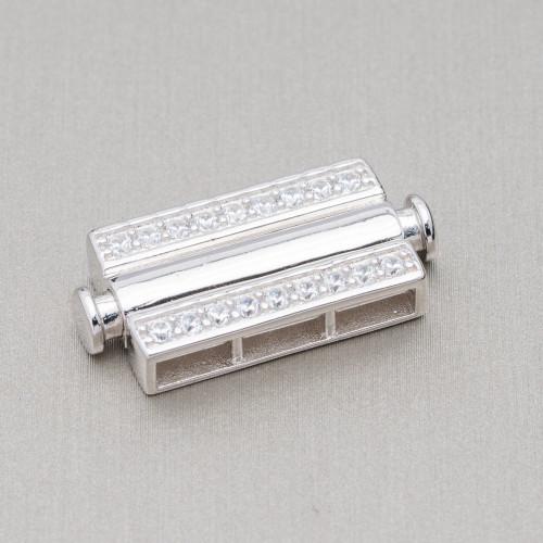Perle Di Fiume Barocche 115-125gr - Bronzo - Lilla 16-18x24-32mm