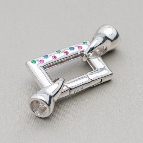 Perle Di Fiume Barocche 90-100gr - Grigio Silver 14-15x16-20mm
