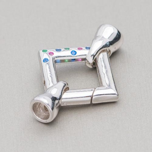 Perle Di Fiume Barocche 95-105gr - Bronzo - Lilla 14-16x18-25mm