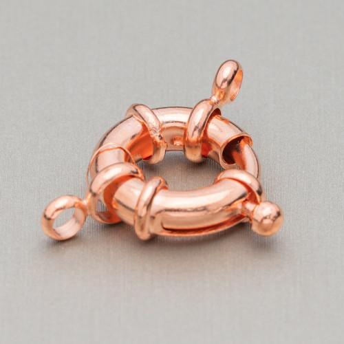 Coppette Di Argento 925 Liscio 04mm Oro Rosa Con Passivazione 10gr 160pz Circa