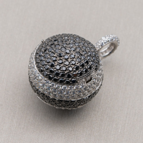 Cabochon di Cristalli Ovale Sfaccettato 15x20mm 10pz