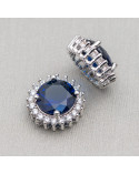 Ametista Rutilata Rondelle Sfaccettate Diamond Cut 3x2,5mm