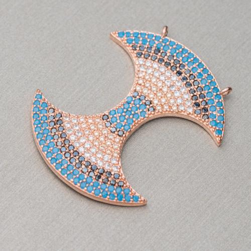 Cianite Scuro Sfaccettato Diamond Cut 3,7mm