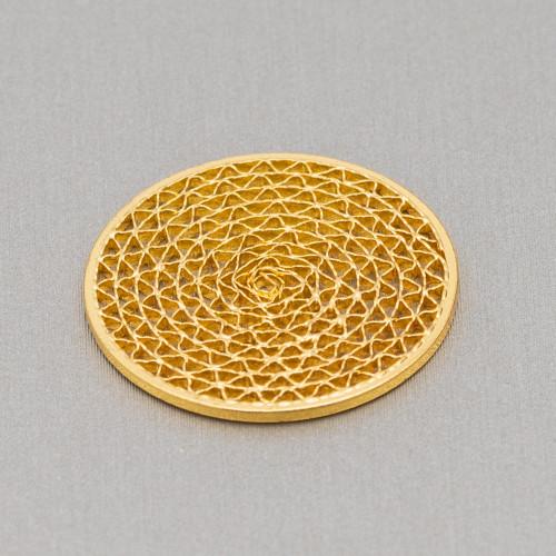 Pendenti Di Argento 925 Croci Lucide 11x17,5mm Rodiato 10pz