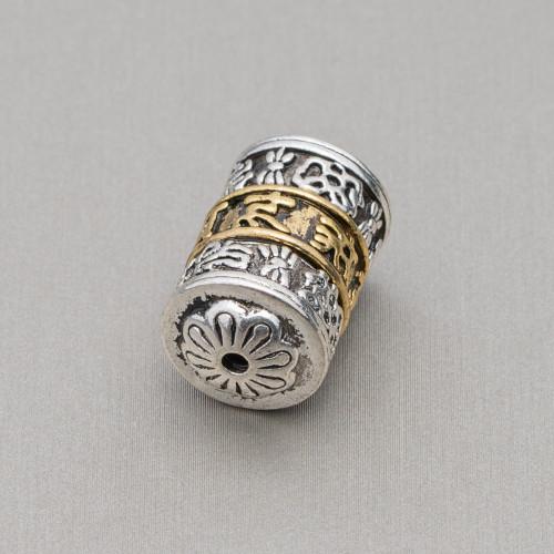 Perle di Maiorca Irregolare Pepita 14-18mm Grigio