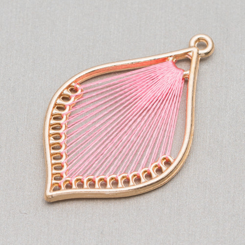 Perline a Filo Di Marcasite Strass Coppette A Cupola Con Perline 15mm 10pz Nero+Turchese