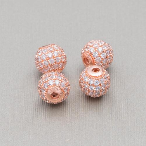 Collana Di Cristalli, Agata Satinata E Marcasite Strass 90cm+10cm Panna