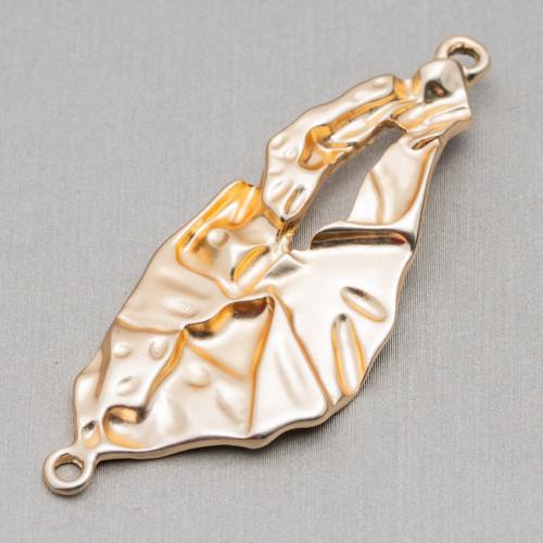 Orecchini A Perno Di Argento 925 Con Perle Di Fiume Barocche E Zirconi Pave