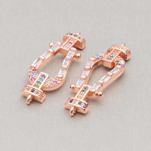 Orecchini Di Argento 925 Con Zirconi E Gocce Di Occhio Di Gatto 17x72mm