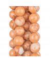 Bracciale Con Elemento Di Madreperla Glitterata E Giada Acquamarina 10mm Ed Ematite