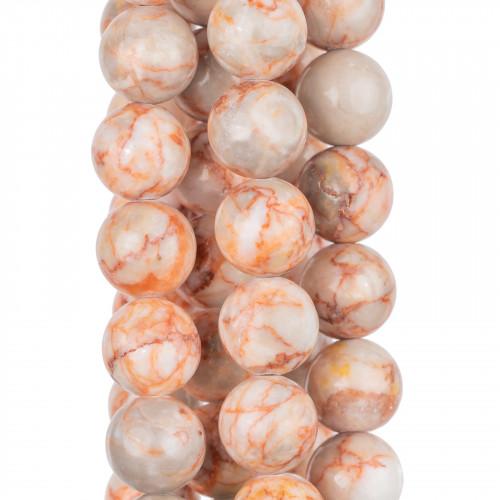 Bracciale Con Elemento Di Marcasite Strass E Giada Turchese 12mm E Perle Di Fiume
