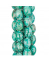 Orecchini Di Argento 925 Con Perle Di Fiume E Strass Marcasite E Foglia Di Ottone Dorato