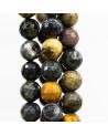 Bracciale Con Elemento Di Marcasite Strass E Giada Con Perle Di Fiume Da 10mm