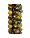 Orecchini di Argento 925 Con Pasta di Turchese E Pasta di Corallo E Corniola 30x88mm